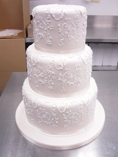 white lace wedding cake white lace wedding cake chocolate earth cakes 27296