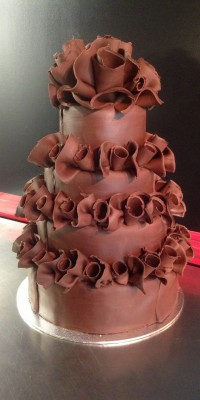 Chocolate Wrapped Tiers
